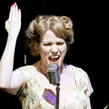 Lauren Kennedy as Eva Peron. Photo: Curtis Brown Photography