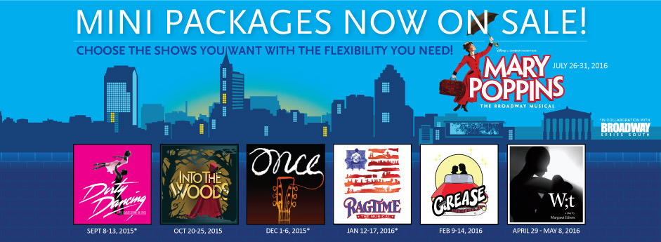 Mini Packages Now On Sale!