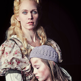Lauren Kennedy as Fantine and Riley Campbell as Young Cosette     Photo Credit: Curtis Brown