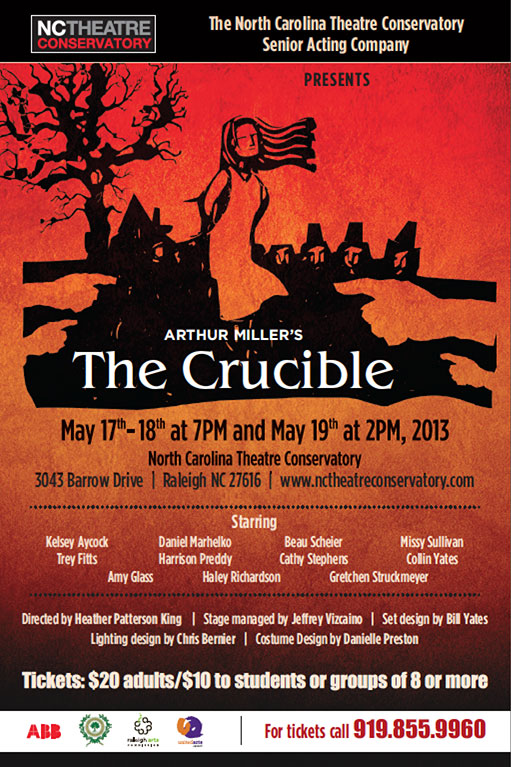 The Crucible at NC Theatre Conservatory