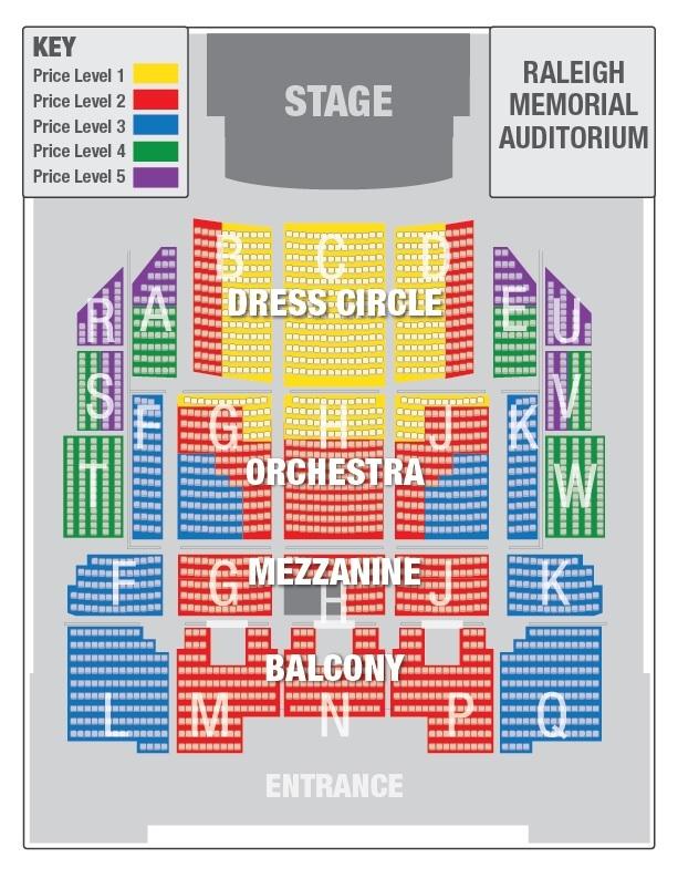 Carolina Theater Seating Chart Fletcher Hall At The