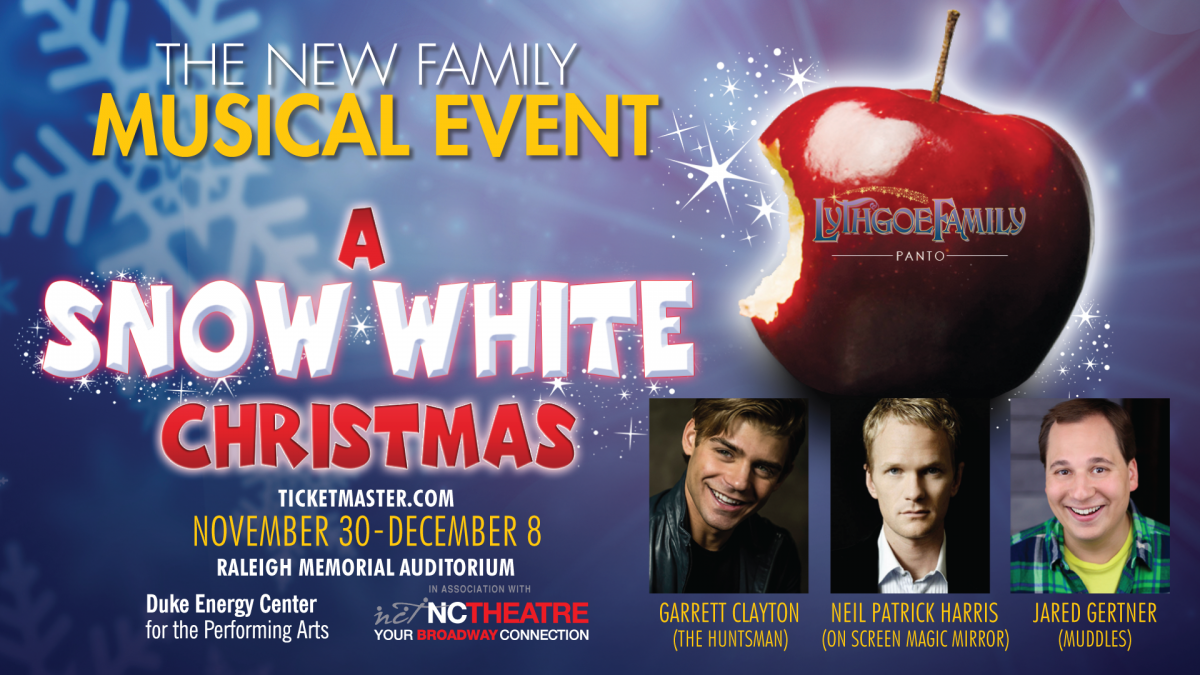 A Snow White Christmas.A Snow White Christmas Nc Theatre