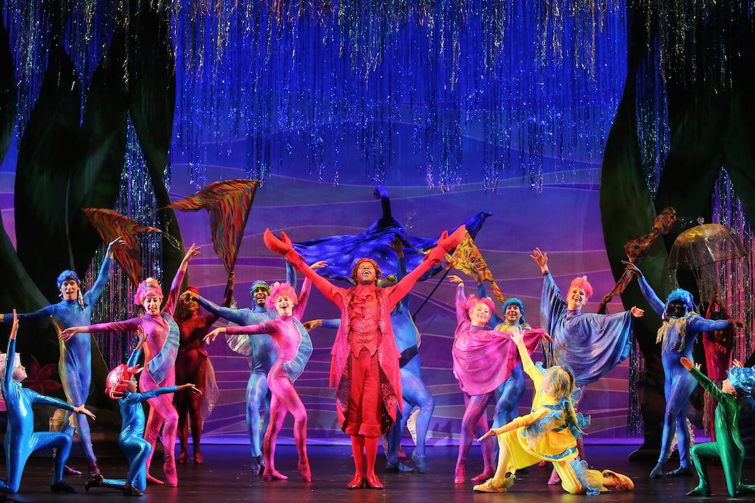 Sneak Peek Of Disney S The Little Mermaid Nc Theatre