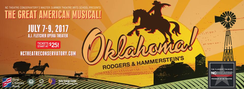 NC Theatre Conservatory's Master Summer Theatre Arts School presents OHLAHOMA!