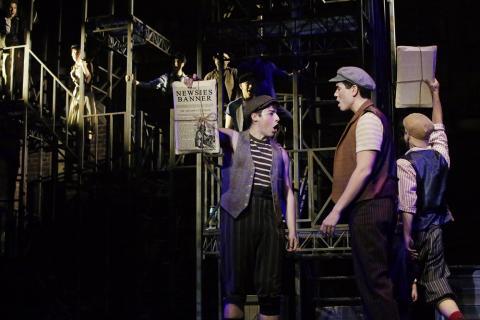 Disney's NEWSIES   NC Theatre